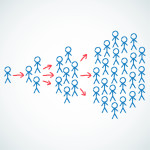 Viral-Content-Blue-People-With-Arrows